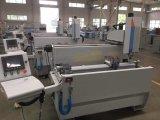 Macinazione di CNC del foro della serratura di portello della finestra di alluminio e perforatrice
