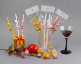 Plastic het Drinken van de Reeks van de Decoratie van de partij Stro, Gek Stro, het Stro van het Beeldverhaal