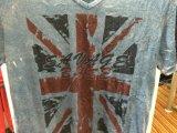 Le T-shirt en bonne santé fané blanc de problème dans l'usure de sports de l'homme vêtx Fw-8655