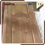 La piel de la puerta de madera de teca con alta calidad