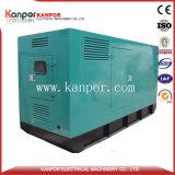 Conjunto de generador diesel de Cummins 80kw 100kVA silencioso y abierto con Ce