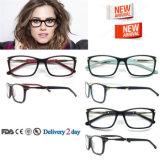 Modelos nuevos de los marcos de las lentes de la vendimia de la mujer del diseñador de los bastidores de los vidrios