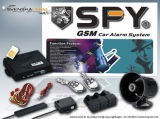 GSM Car Alarm System with Engine - Start