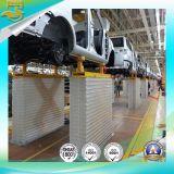 A linha de montagem de automóveis automática