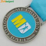 Medalhas feitas sob encomenda da concessão do metal com fita