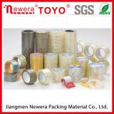 Bande d'emballage de ruban adhésif de bande de la qualité BOPP pour le cachetage