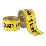 무료 샘플 유효한 황색 지하에 탐지가능한 경고 테이프