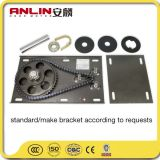 Anlin Companyからの銅線AC200kgのアルミニウムガレージのドアモーター