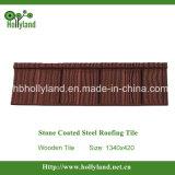 Teja de acero recubierto de piedra (de madera mosaico)