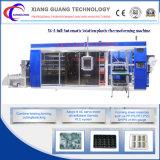 Nuevo diseño de sistema de la máquina multi estación de termoformado Driven Servomotor