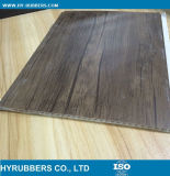Panel laminado de madera pared del PVC de la serie