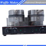 Electric Waffle Baker Waffle Maker con certificado CE restaurante comercial