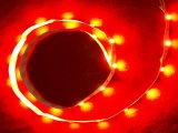 Vermelho com faixa de luz flexível de cor única (DMG-FS-R)