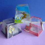 Concevoir les cadres transparents de PVC de plastique pour les produits de empaquetage