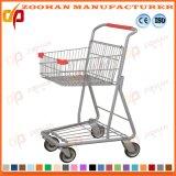 Chariot en plastique à caddie de supermarché de bonne qualité (Zht23)
