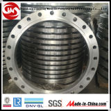 Flange de forjamento de grande diâmetro (300-6500mm) Embalagem de flange de aço