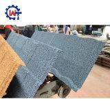 Plaqueta de hoja de techos de zinc aluminio materiales para techos tejas