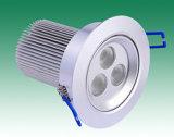 Hohe Leistung 9W LED vertiefte Downlight, LED-Decken-Lampen-Licht