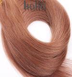 Uitbreidingen van het Haar van Prebonded van 10 Duim van het Haar van de fusie de Bruine