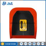 Akustische Hochleistungshaube mit wetterfestem Telefon, Emergency Telefon-Haube