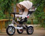 Novo Triciclo Bebé populares bebê multifuncional de triciclo