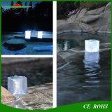 Foldable膨脹可能な立方体の太陽キャンプのランタン屋外の防水LED夜ライト