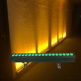 Proveedor de la luz de la etapa 18L* 15W Rgbaw 5en1 de pared de luz LED DMX