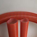 Tubo flessibile a fibra rinforzata di aspirazione del PVC