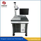 Fibra de marcadora láser de escritorio para el sistema óptico de marcas de productos sanitarios