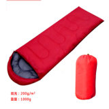 PE、Pet FabricおよびNull Filling Camping Outdoor Sleeping Bag