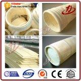 Tissu PTFE Industrie du ciment sac de filtration de collection de poussière