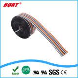 16p 1.27mm cabo flexível plano a cores do arco-íris 16 condutores para conectores