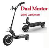 Fetter Gummireifen-elektrischer Roller Hoverboard elektrischer Roller des Skateboard-E