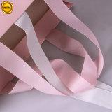주문을 받아서 만들어진 로고를 가진 서류상 수영복 부대를 인쇄하는 Sinicline 로즈 분홍색