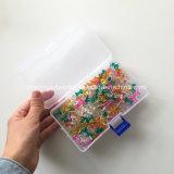 Commerce de gros assortiment de couleurs en plastique transparent Officemate Pousser les axes à tête ronde