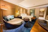 Bed van de Stijl van het Meubilair van de Slaapkamer van het hotel het Moderne Eenvoudige Houten Ronde
