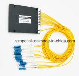 8CH de fibra óptica CWDM 2,0 mm con conector LC Caja de plástico