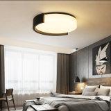 Illuminazione piana dell'indicatore luminoso di soffitto della cucina del supporto moderno rotondo creativo LED di rossoreare, per la camera da letto, corridoio, cucina