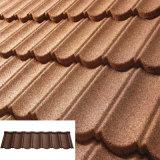 屋根ふき材料亜鉛シートの石は金属のとらわれの屋根瓦に塗った