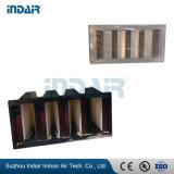 Estrutura de aço galvanizado V-Bank Filtro Primário