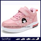 Nouveau Kid bon marché des chaussures plates PU Printemps Chaussures enfants