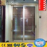 Элегантный полой провод стекла алюминиевые раздвижные двери