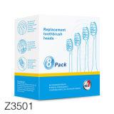 Z3501 standard de l'UE Logo privé en plastique coloré Portable Travel brosse à dents électrique Case
