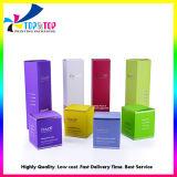 Venda por grosso Loção Creme Facial reciclado personalizado pequeno papel de embalagem Cosméticos Caixa de oferta