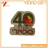 Значок эмали изготовленный на заказ металла цены по прейскуранту завода-изготовителя мягкий для сбывания (YB-LY-B-04)