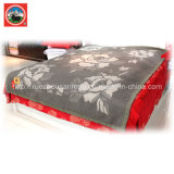 Materia textil combinada de las lanas del camello de la tela de la cachemira de Jacqard de las lanas de los yacs