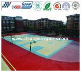 Campo de básquete colorido do Spu do cristal para o campo de esportes atléticos