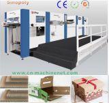 Machine de découpage de découpage de carton de papier ondulé de machine de cadre bon marché de qualité