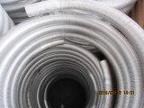 Enroulement transparente en aluminium fin tube pour l'échangeur de chaleur
