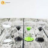 Hourglass для часов песка подарков кристаллический для домашняя декоративной
